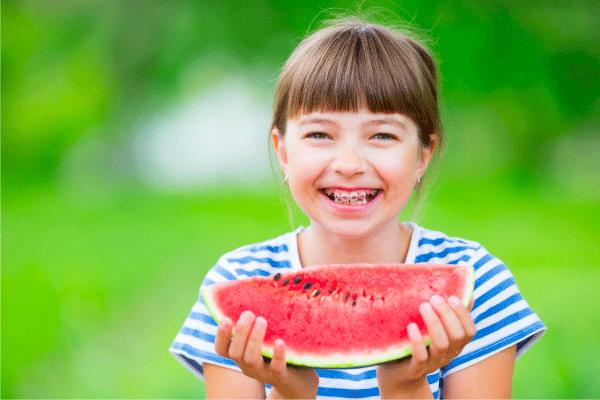 healthy eating kid