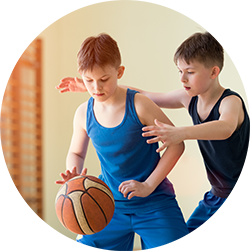 kids sports basketball